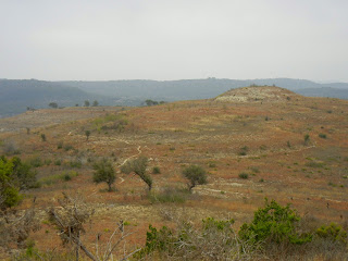 The Rimrock trail at the Balcones Canyonlands NWR