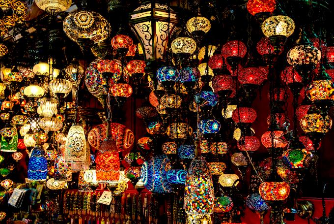 Lights of Grand Bazaar, Istanbul