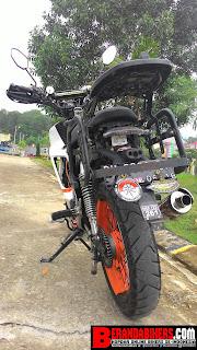 Modifikasi Honda Supra X 125 menjadi Supermoto, racun para pengguna motor Bebek!