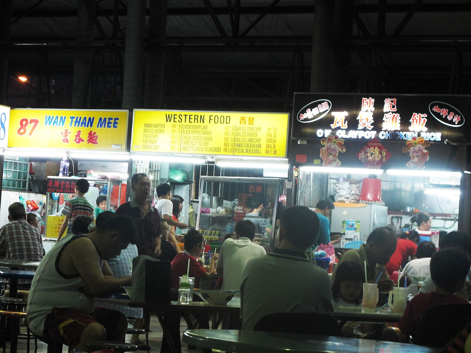 Food court business plan