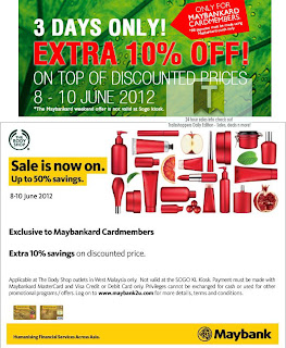 The Body Shop Extra Discount Sale