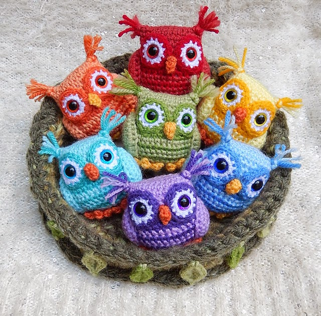 Crochet Owl : Happy Heart Fiber Art : NEW! FREE Pattern Friday!