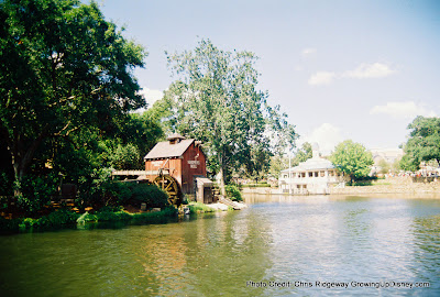 Tom Sawyer's Island and Harper's Mill