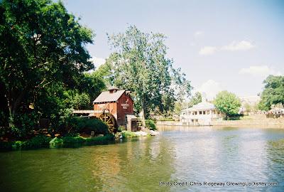 Tom Sawyer's Island and Harper's Mill