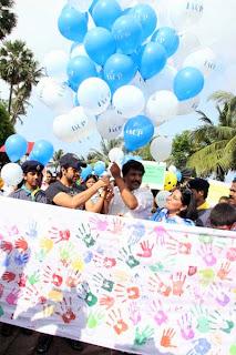 Ayushman Khurana Flags Off Cerebral Palsy Walk Event Photos