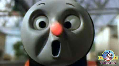 Buzz flying bee stung James the really splendid engine red nose ouch whistled James the red engine