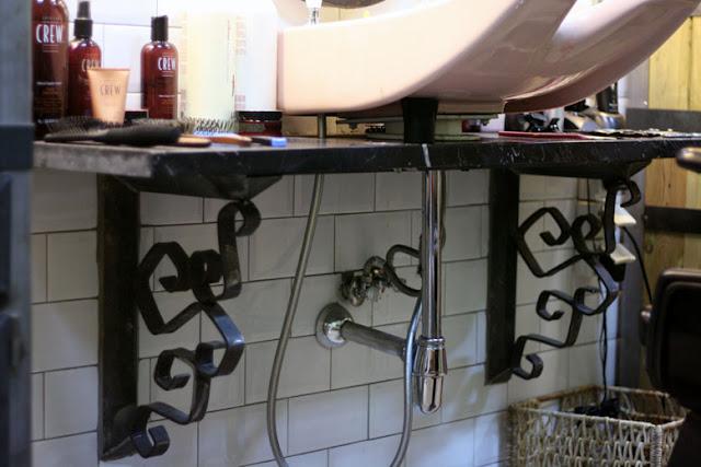 Una peluquer a al estilo vintage decorar tu casa es - Como amueblar una peluqueria ...