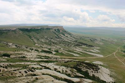 Белая Скала.Вершина