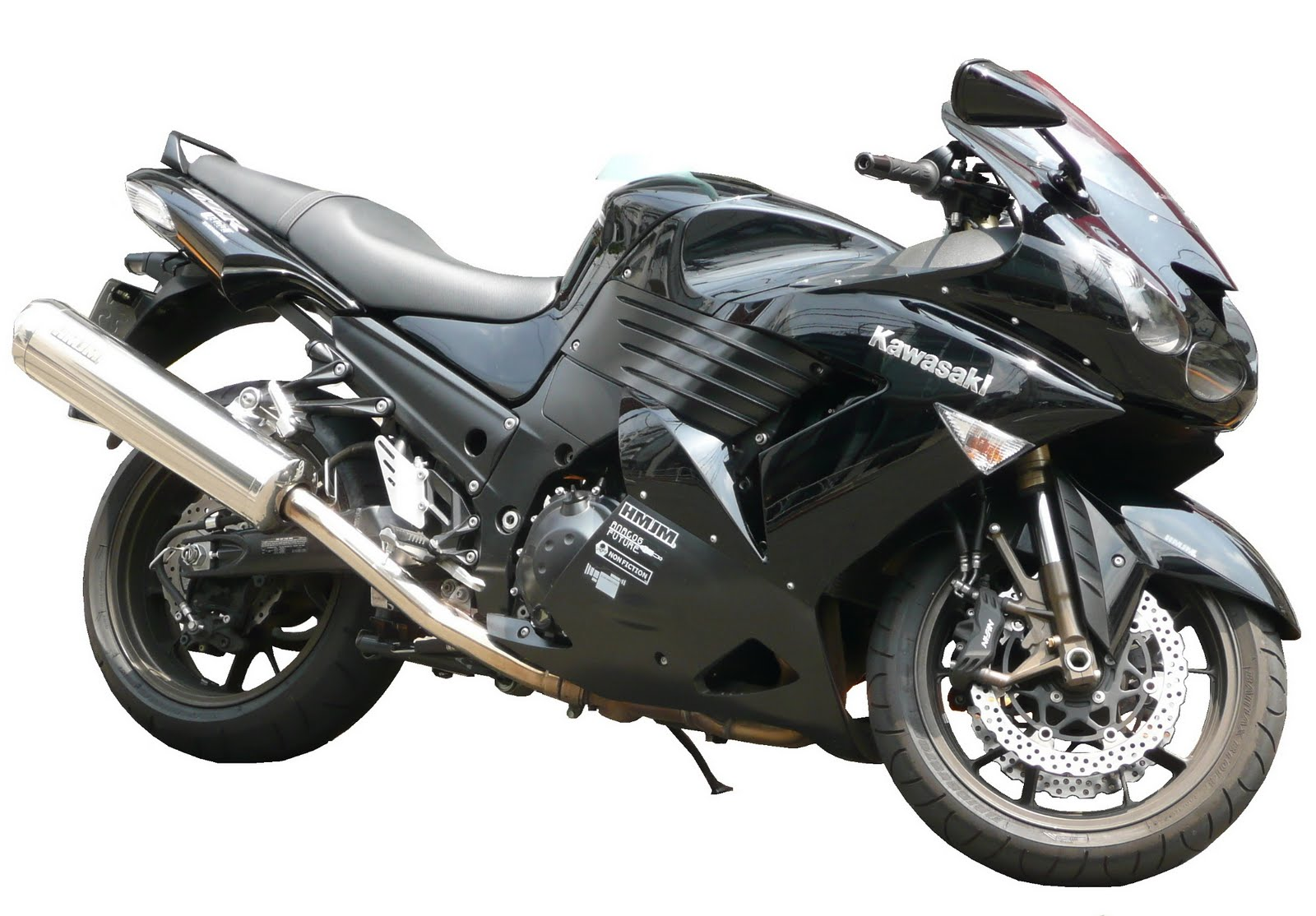 motorcycles: Kawasaki ZZR1400 / ZX14 key features