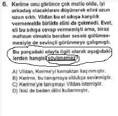 teog türkçe paragraf soruları