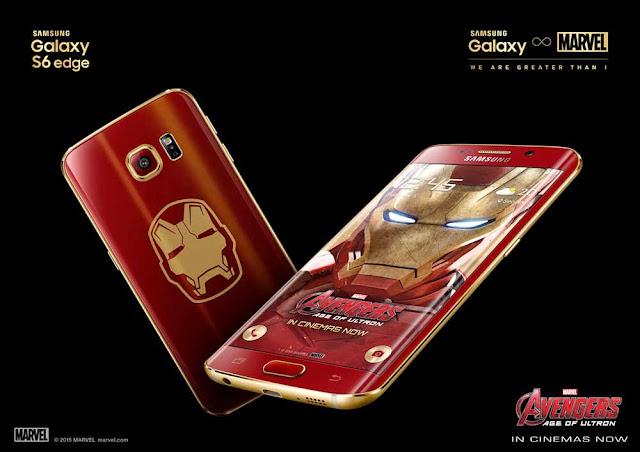 Samsung Galaxy S6 Edge Iron Man Limited Edition resmi diumumkan