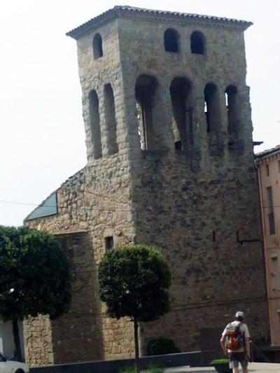 L´ESGLESIA VELLA DE SANTA EULÀLIA DE GIRONELLA  - documentada  de l´any 1222 -