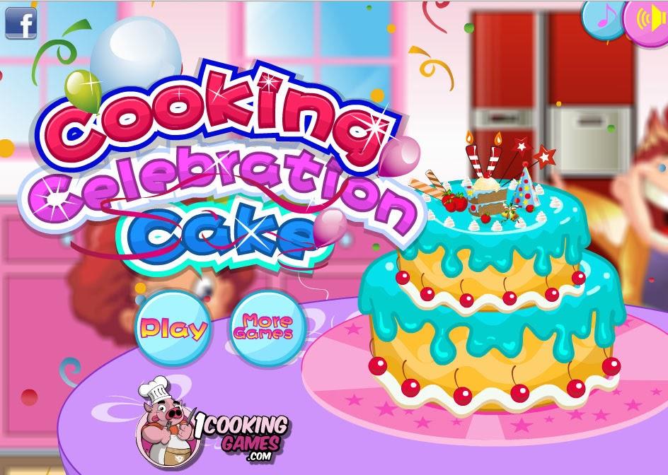 cooking games celebration cake
