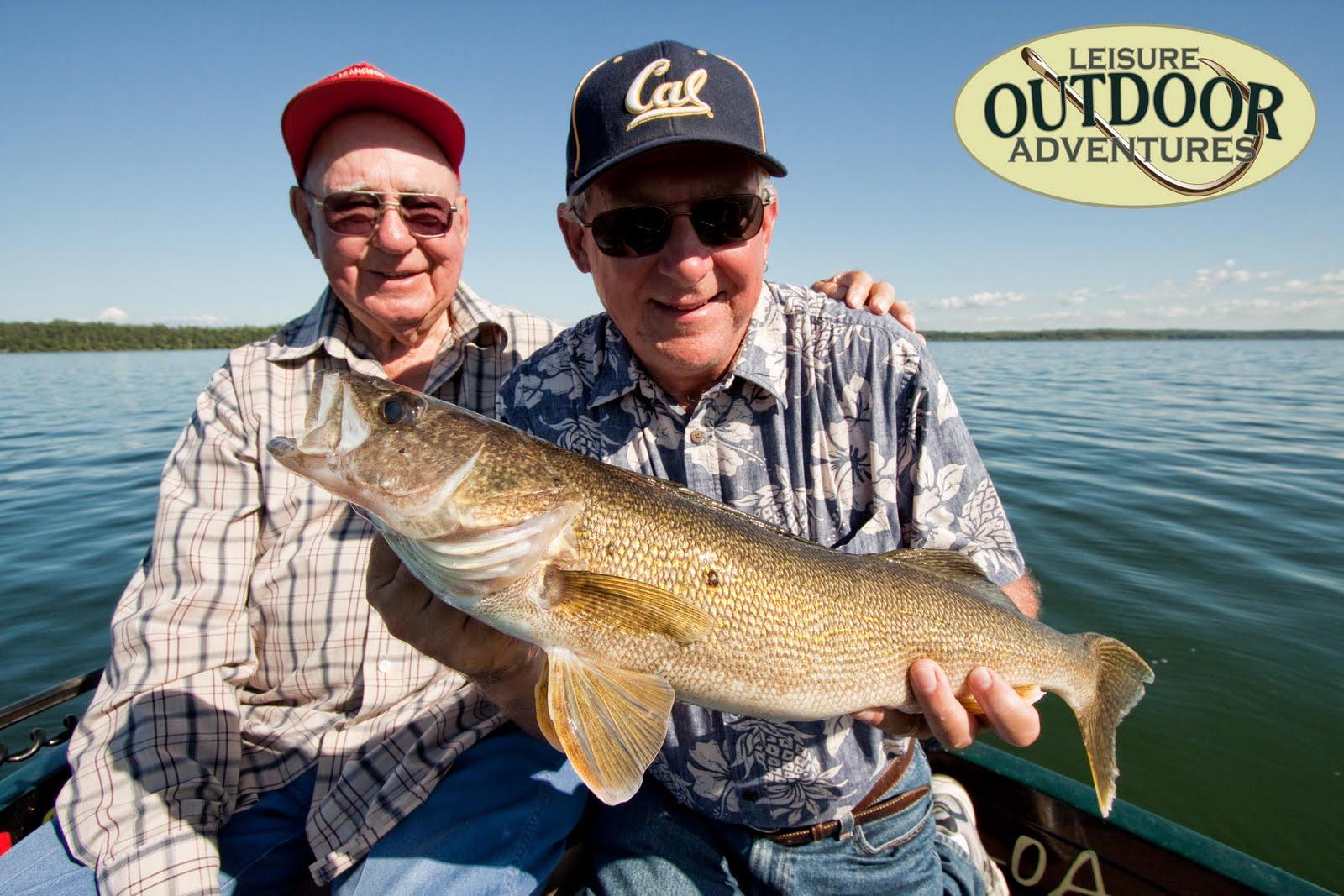 Leisure outdoor adventures leech lake fishing walleye for Leech lake fishing