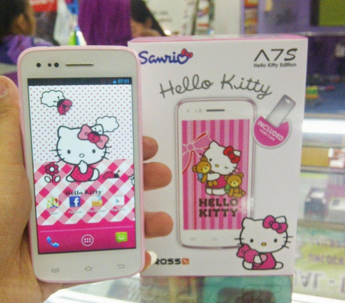Spesifikasi dan Harga Evercoss A7S | Edisi Hello Kitty