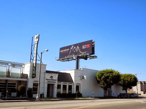 American Horror Story Coven voodoo billboard