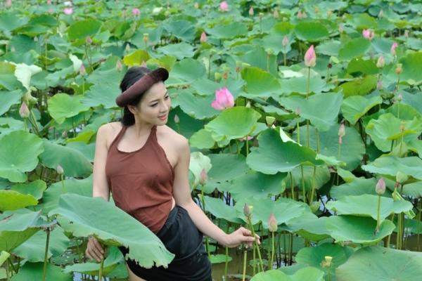 Thai nha van lo nhu hoa 049 Trọn bộ ảnh Thái Nhã Vân lộ nhũ hoa cực đẹp