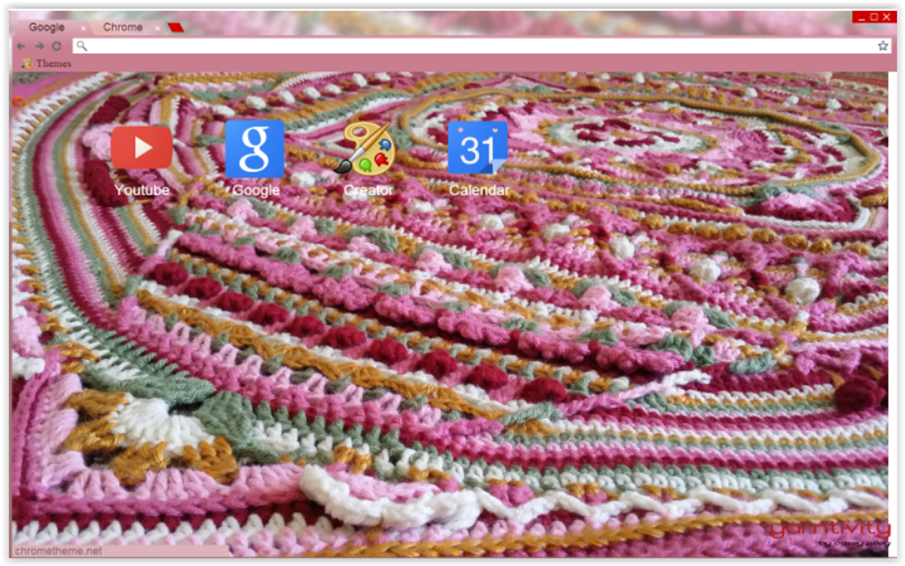 Google theme universe - Sophies Universe Crochet Chrome Theme By Yarntivity Anyone That Has Seen Or Made A Sophie Can Relate To My Obsession This Was The First Sophie I Ever