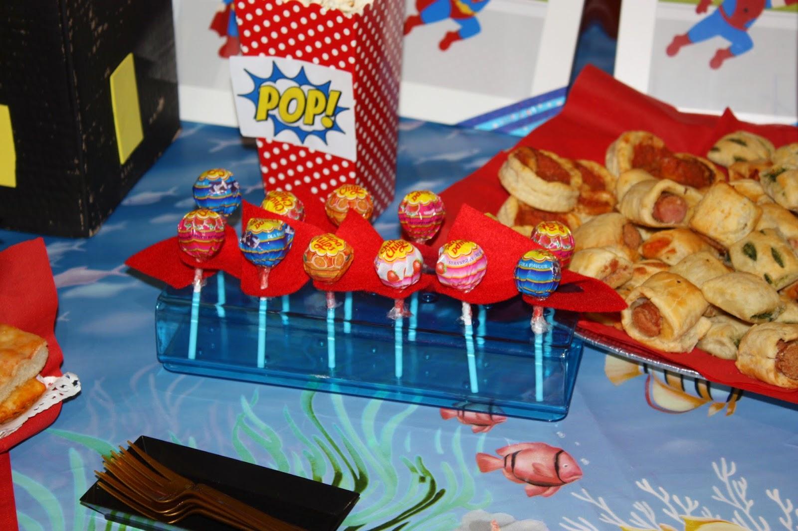 abbastanza La Casin@ di Ale: superhero party: festa a tema super eroi per  HL81