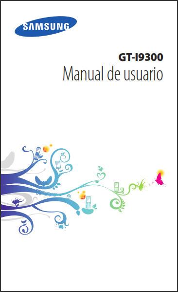 Samsung Galaxy S III GT-I9300 Manual de usuario