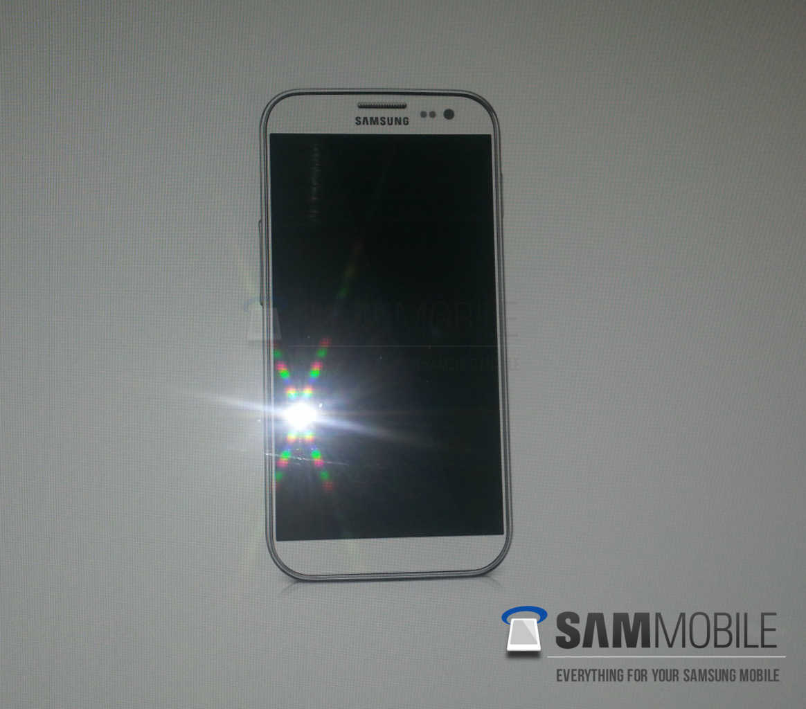 Leaked photo of Samsung Galaxy S4