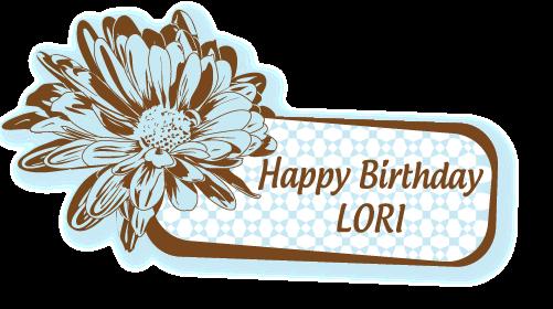 Card Metaphors Happy Birthday Lori