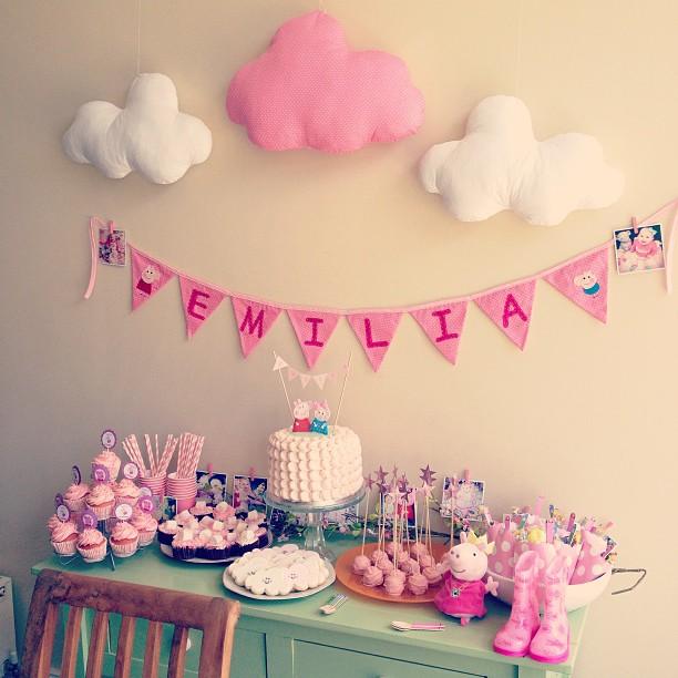 Emilia S Peppa Pig Party Anna Saccone Joly