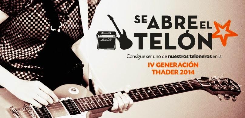 Concurso Teloneros Thader