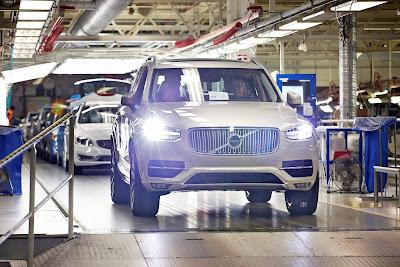 Νέο Volvo XC90: πρόσθετη βάρδια εργασίας για τη μεγάλη ζήτηση του σουηδικού μοντέλου