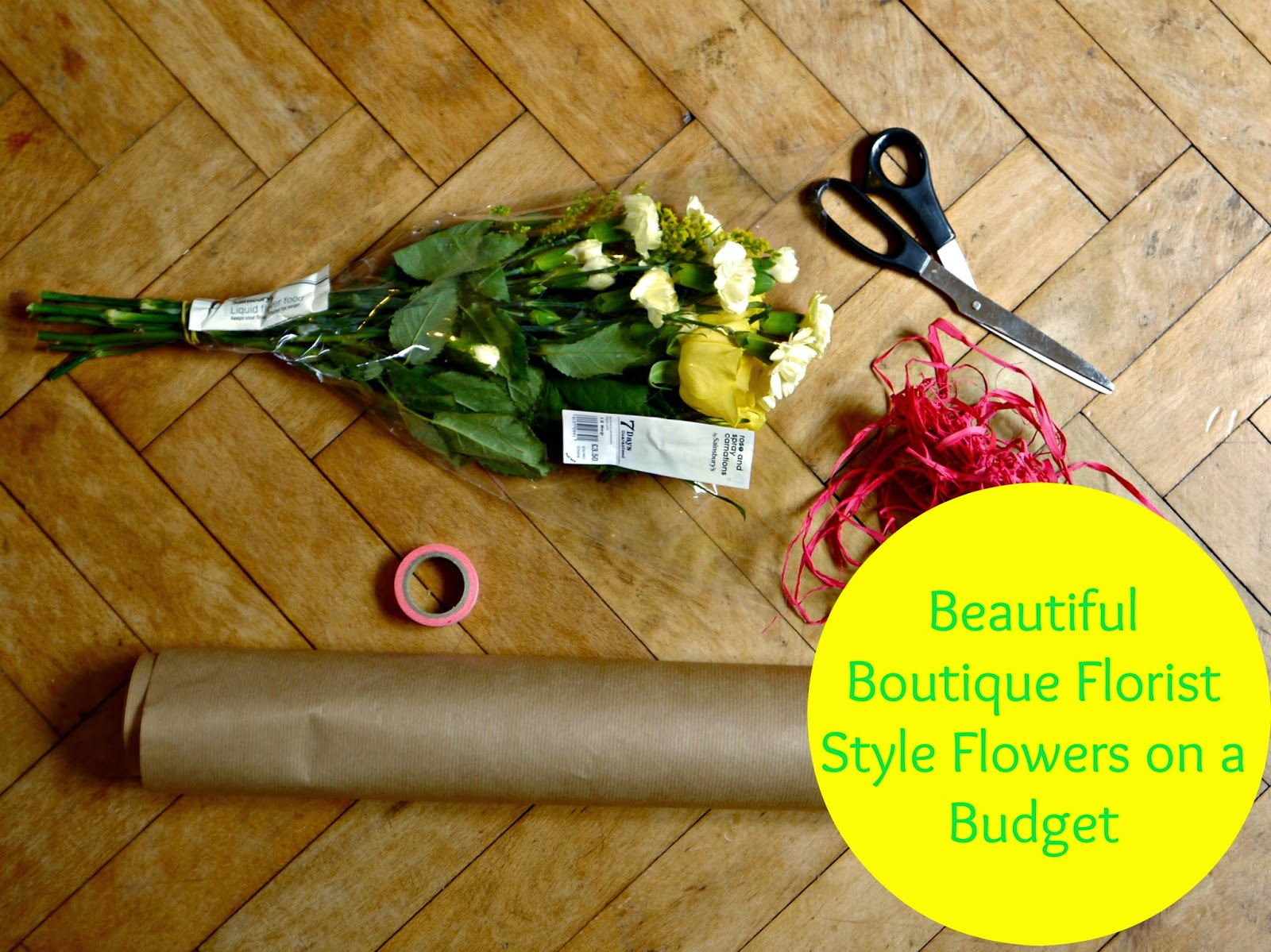 Beautiful Boutique Florist Style Flowers on a Budget