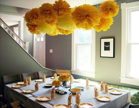 yellow gray baby shower themes decoration ideas