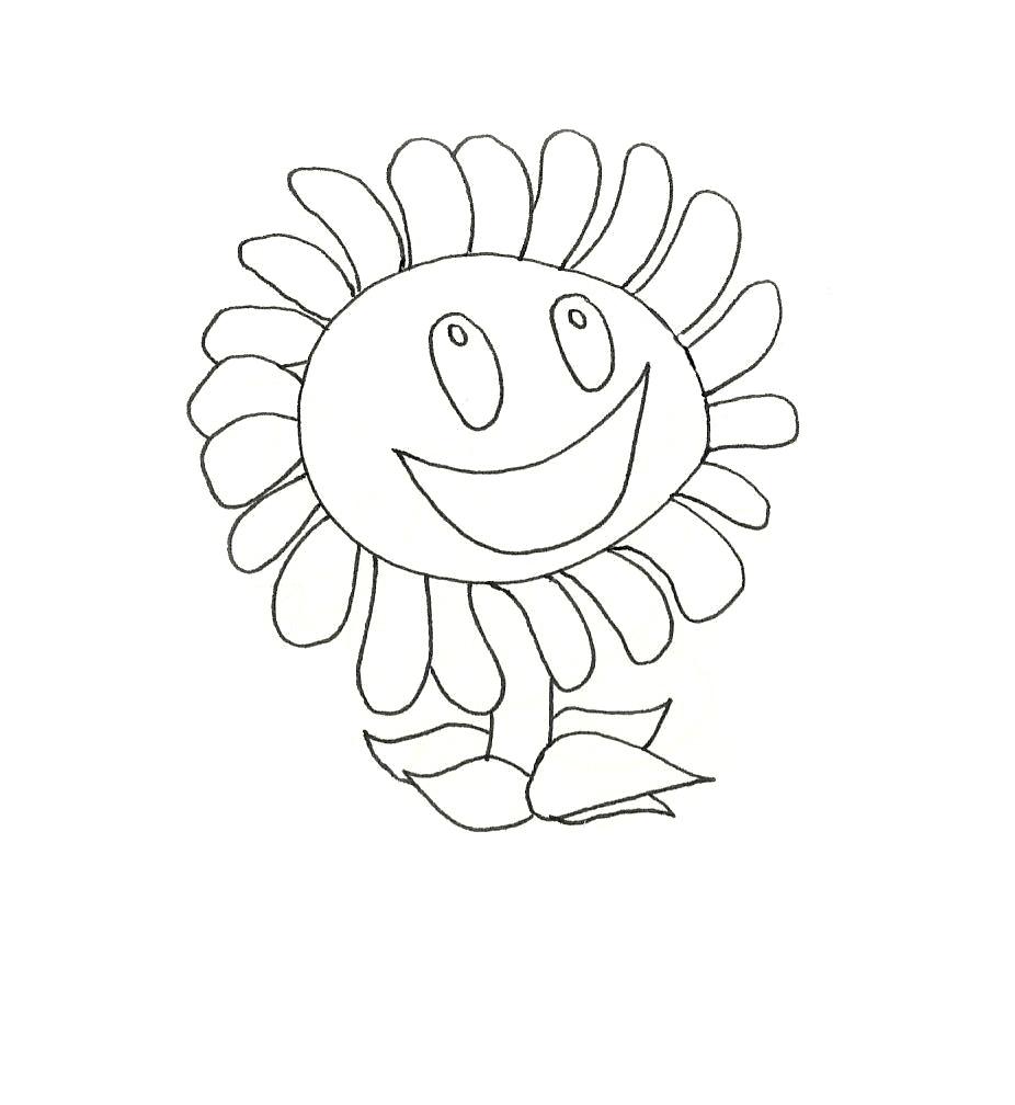 Frikaditas Gaditanas: Dibujo de la margarita de Plants vs Zombies ...