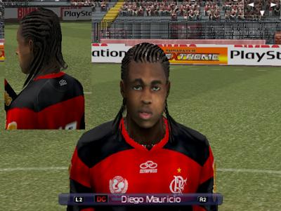 Face Hair Diego Mauricio  Flamengo