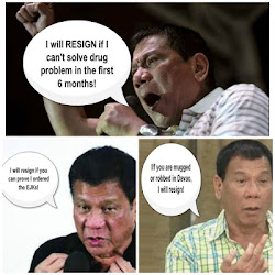 Is Duterte ever serious about resigning from the presidency?