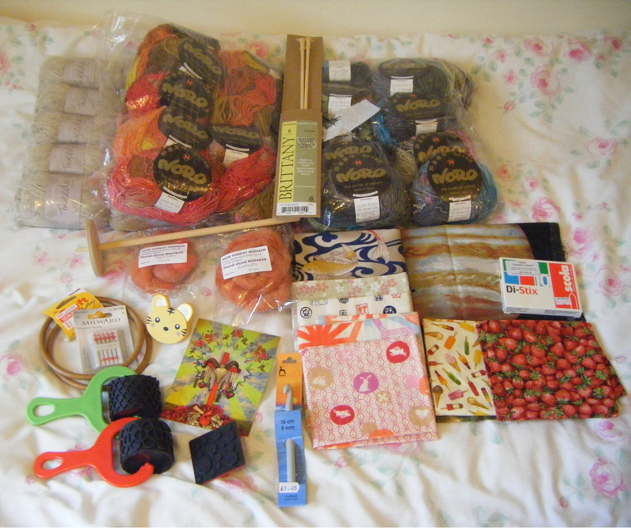 Rumade: Knitting and Stitching Show Haul