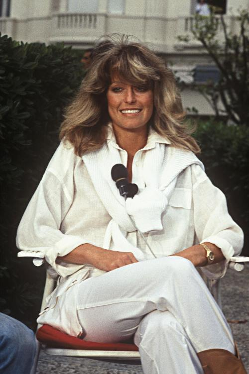 l 39 ic ne le look farrah fawcett. Black Bedroom Furniture Sets. Home Design Ideas