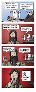 funny hitler jesus comic revenge