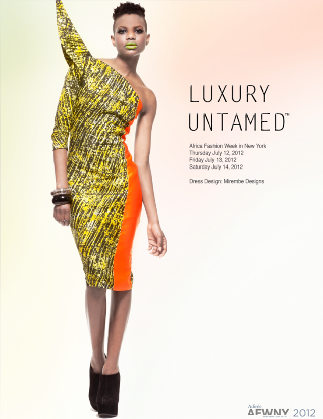 2012 African Fashion Week New York Luxury Untamed Ciaafrique African Fashion Beauty Style