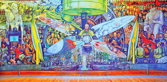 El Hombre Controlador del Universo. (Diego Rivera / Año 1934)