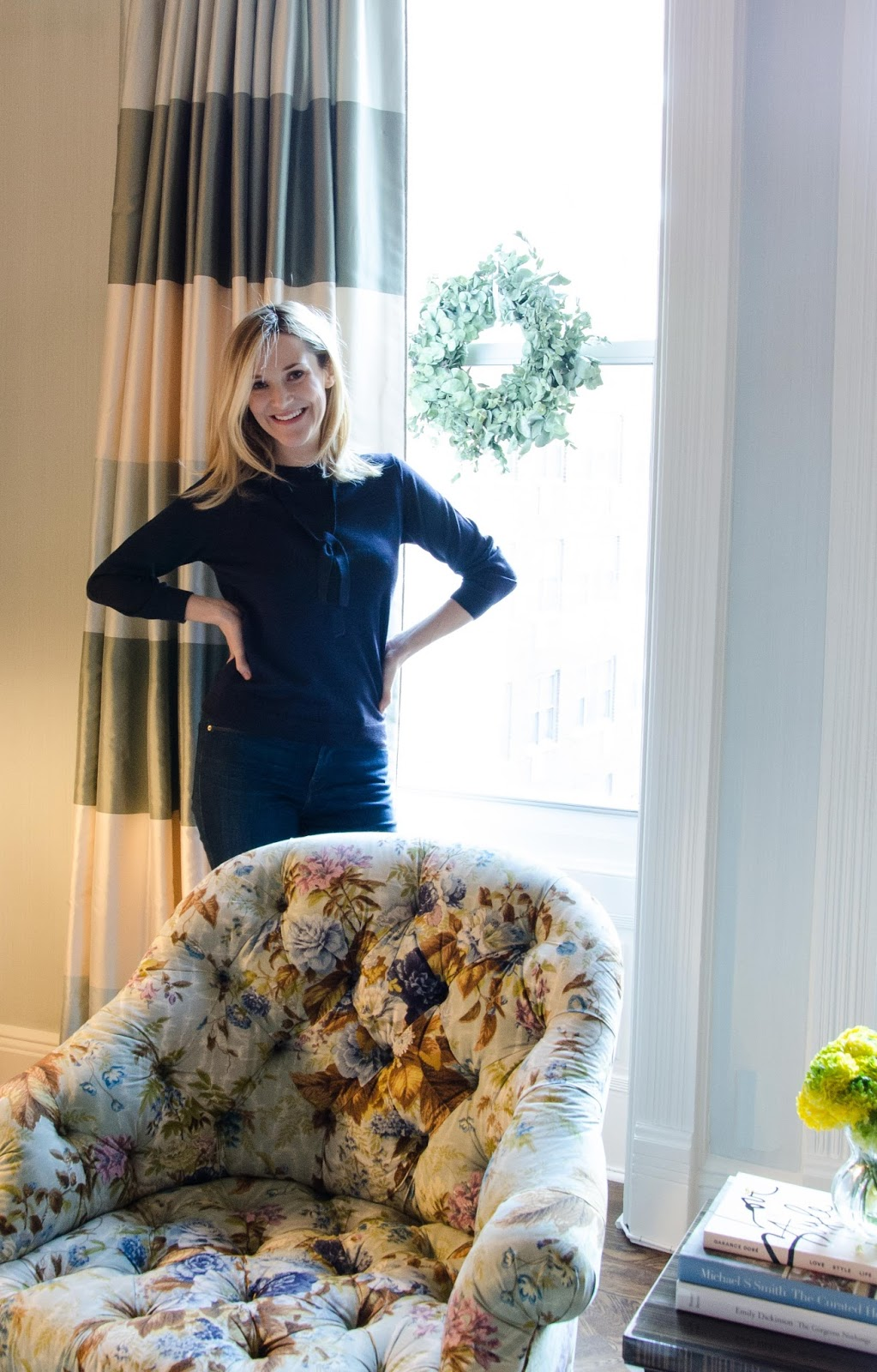 CeCe Barfield Thompson In Her Gramercy Park Home