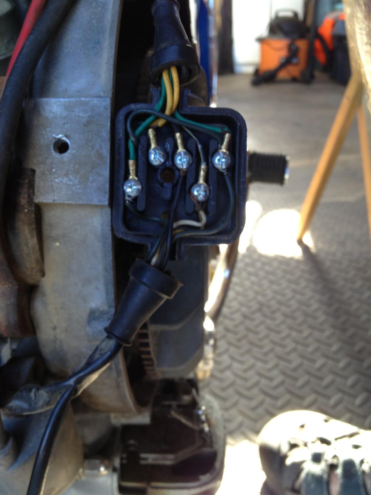 1967 Vespa Sprint 150 Vlbit Maintenance Record Wiring Junction Of Iron Box