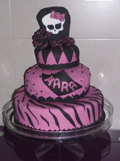 Monster High Freaky Fab Blog: Pasteles de Monster High