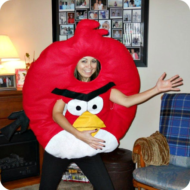angry birds, DIY Angry Birds Costume