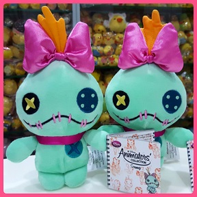 2017 Japan Disney Store Animators Scrump Beanies Plush