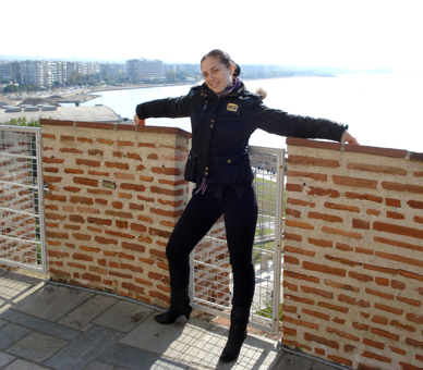 Кирильчук Ирина, Салоники, оформление документов в государственные ВУЗы Греции 2012.