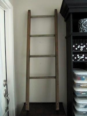 swing set quilt ladder
