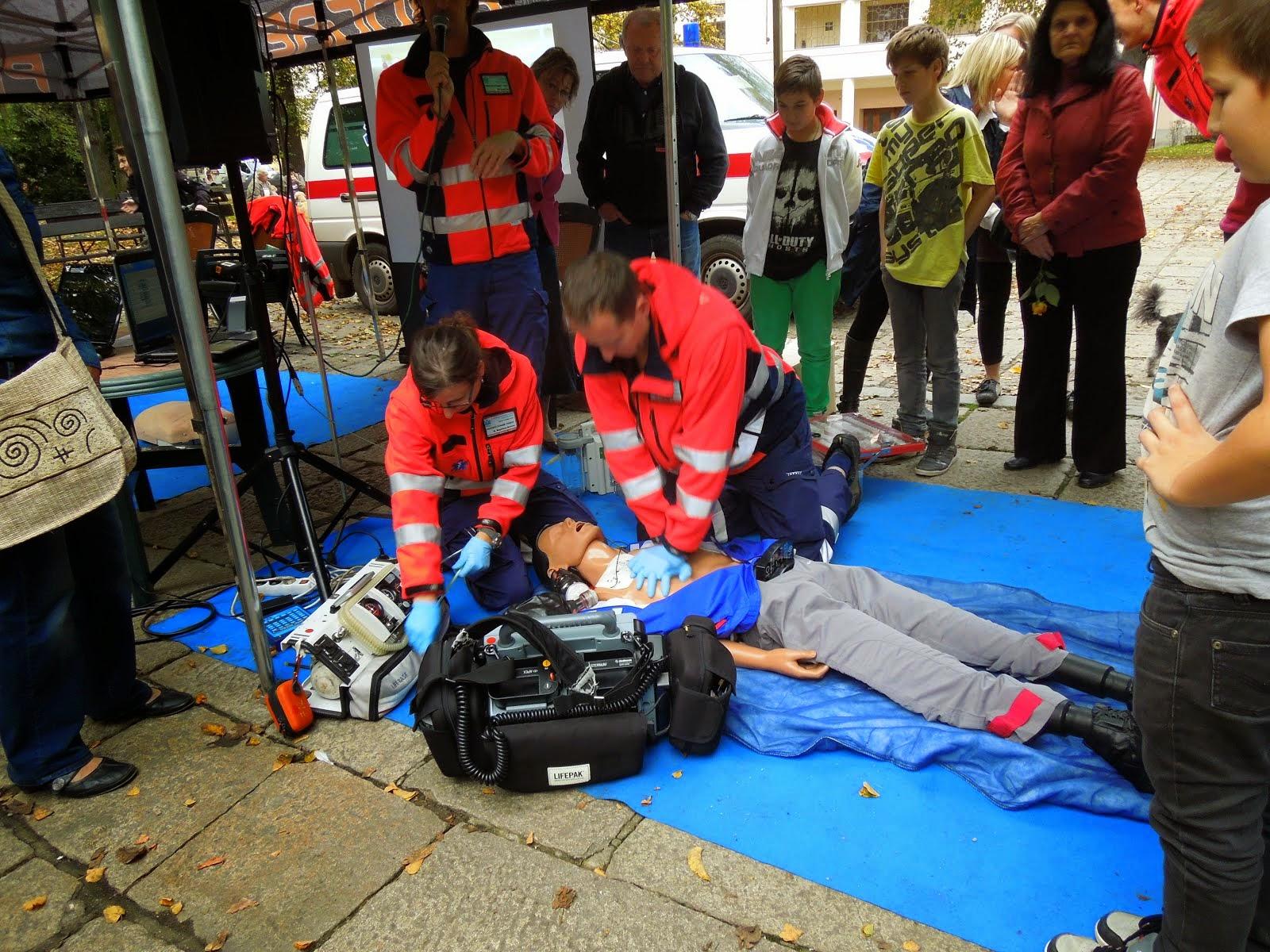 Záchranka aktivita a prezentace
