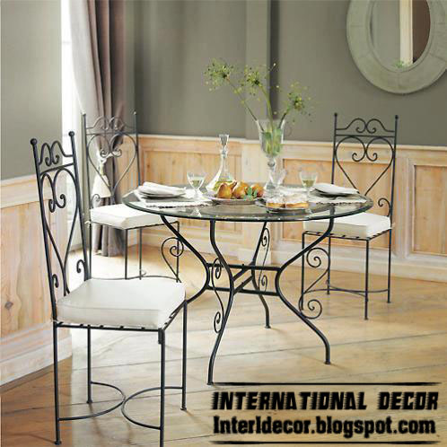 Dining Table Iron Dining Table And Chairs