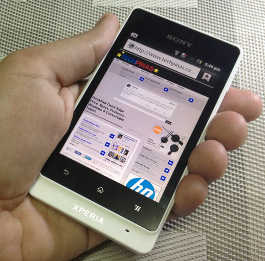 best smartphones 2012, sony xperia go philippines