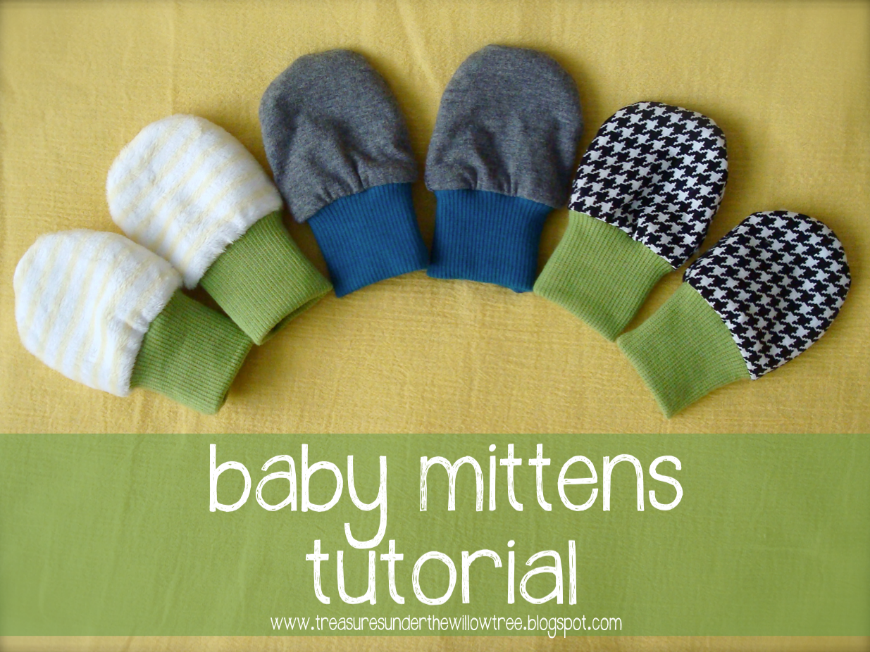 It doesn't matter if it is summer or winter, anytime is a good time to make baby mittens. These little hand covers keep a baby from scratching her face, body, or arms by accident by covering her fingernails without putting pressure on her hands or wrists.
